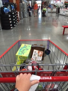 Costco-ing like a boss.