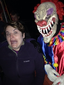 A scare in line for the Haunted House
