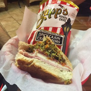 The mufaletta