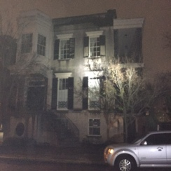 The most haunted house in Savannah!