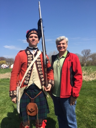 Reenacters at Windmill Island Park