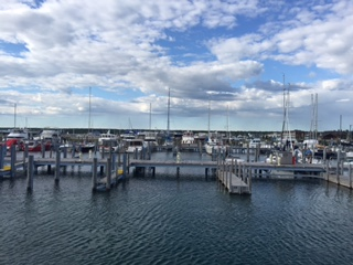 Dock in Mackinaw City