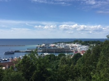 View of Mackinac